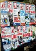 Lotto 11 riviste informatica PC Pro annata completa 2008 retro computer software Windows CARW