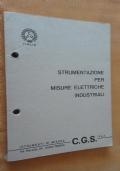 C.G.S. - Strumentazione per misure elettriche industriali