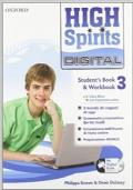 High spirits digital. Student's book-Workbook-Mydigitalbook 2.0. Con CD-ROM. Con espansione online. Vol. 3 Fronte Retro High spirits digital. Student's book-Workbook-Mydigitalbook 2.0. Con CD-ROM. Con espansione online. Vol. 3