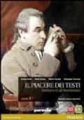 IL PIACERE DEI TESTI 4 - L'ETA' NAPOLEONICA E IL ROMANTICISMO