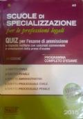 Scuole di Specializzazione per le professioni legali - Quiz
