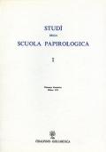 STUDI DELLA SCUOLA DI PAPIROLOGIA