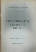 Commemorative Exhibition 1937 1962 by circle of glass collectors