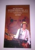PAUL McCARTNEY RECORDING SESSIONS 1969-2011