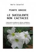 PIANTE GRASSE - LE SUCCULENTE NON CACTACEE
