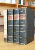 1825-1826 Storia Ecclesiastica del Secolo XVIII (3 volumi) + Compendio Secolo XVII
