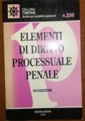 Elementi di diritto processuale penale