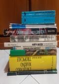 Stock libri sull'hobby dell'acquario