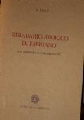 Stradario storico di Fabriano con appendici toponomastiche