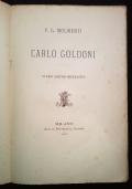 Carlo Goldoni. Studio critico biografico