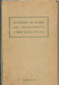 Questioni di Storia del Risorgimento e dell'Unità d'Itala