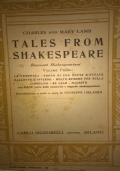 TALES FROM SHAKESPEARE volume secondo