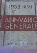 annuario generale 1938 XVI