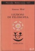 Lezioni di filosofia. Roanne 1933-1934
