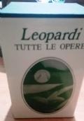 LEOPARDI, TUTTE LE OPERE  2 VOLUMONI