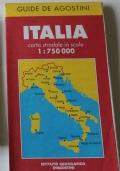 Italia. Carta automobilistica. (scala 1:1.000.000)