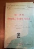 Trattato di storia delle dottrine  politiche