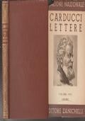 3 ) EDIZIONE NAZIONALE DELLE OPERE DI CARDUCCI VOLUME VIII LETTERE 1872-1873