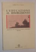L'educazione al Risorgimento Francesco De Sanctis da esule a ministro, 1848-1861