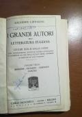 I grandi autori della letteratura italiana