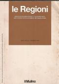 Le Regioni : rivista di documentazione e giurisprudenza dell'Istituto di studi giuridici regionali (ISGRE)