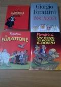 LOTTO 4 LIBRI di Giorgio Forattini INSCIAQQUA' Andreàcula - Andreotti Story 1976-1993 Il Forattone -Và dove ti porta il rospo