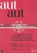 AUT AUT - 365/2015  Intellettuali di se stessi. Lavoro intellettuale in epoca neoliberale