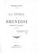 LA STORIA DI BRINDISI SCRITTA DA UN MARINO-RIMINI 1886