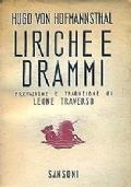 LIRICHE E DRAMMI