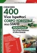 manuale per concorso ispettori corpo forestale