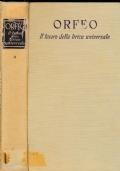 Orfeo Il tesoro della lirica universale Vol. I°