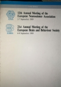12th Annual Meeting of the European Neuroscience Association - 21st Annual Meeting of the European Brain and Behaviour Society
