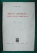 L'immunità giurisdizionale degli organi stranieri.