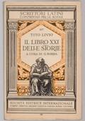 Il Libro XXI delle Storie. Introduzione e note ad uso delle scuole per cura di Guido Borra