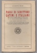 Passi di scrittori latini e italiani proposti come temi di versione ad uso delle scuole medie superiori