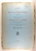 Notizie degli Scavi annata 1940, vol I con foto e disegni