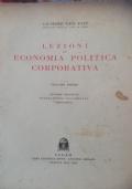 Lezioni di economia politica corporativa volume primo