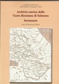 Inventario dell'Archivio Capitolare di San Panfilo a Sulmona