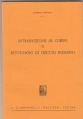 Dizionario giuridico romano. Introduzione e Prefazioni dei prof. Antonio Guarino e Settimio di Salvo. V EDIZIONE