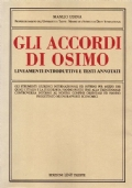 Gli accordi di Osimo. Lineamenti introduttivi e testi annotati