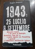 1943 25 luglio 8 settembre