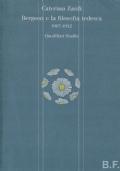 Bergson e la filosofia tedesca 1907-1932