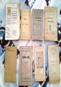 Lotto 8 libretti religione cattolica 1912/1918