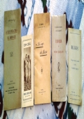 Lotto 5 libretti religione cattolica anni 1921/1927