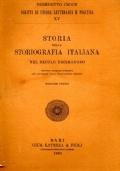 Storia della storiografia italiana nel secolo decimonono