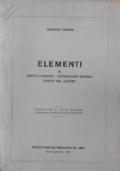Elementi di Diritto pubblico - Legislazione sociale - Diritto del Lavoro
