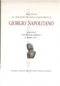 Mantova al Presidente della Repubblica Giorgio Napolitano (Mantova – Teatro del Bibiene - 6 dicembre 2011) STORIA D'ITALIA – REPUBBLICA