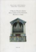 Lorgano Pacifico Inzoli della chiesa di San Giovanni Battista in Adro