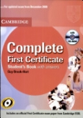Complete First Certificate Student's book without answers