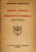 SCRITTI POLITICI E DI ISTRUZIONE PUBBLICA
